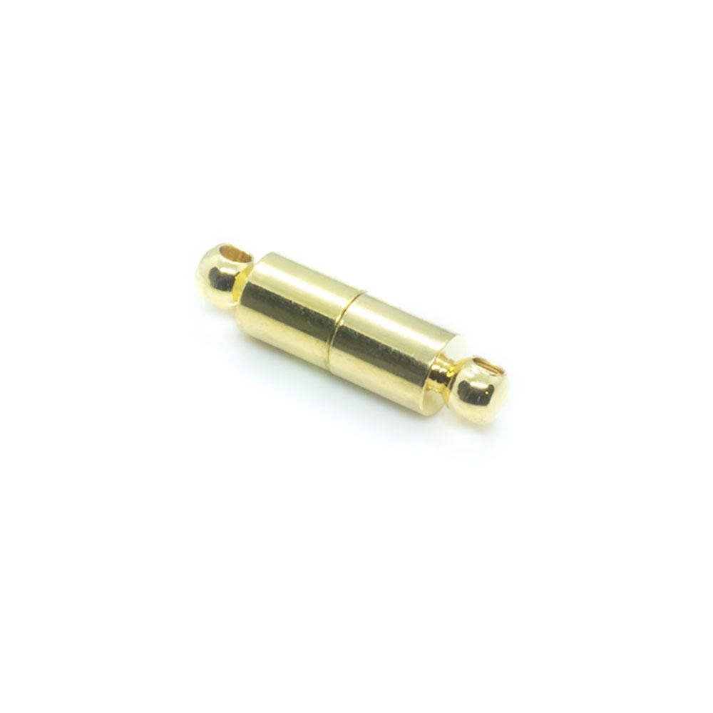 Magnetic Hematite Clasp - 16x5mm - 1 set