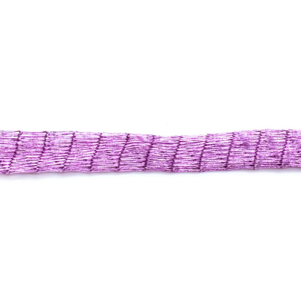 Tubular Mesh Ribbon - 6mm wide - 30cm length