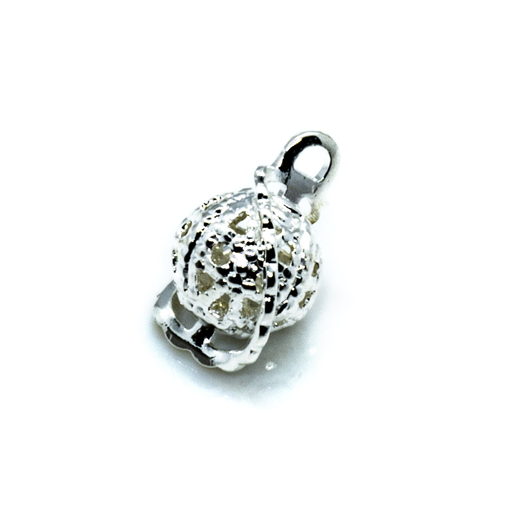 Charm - Wrapped Filigree - 6mm