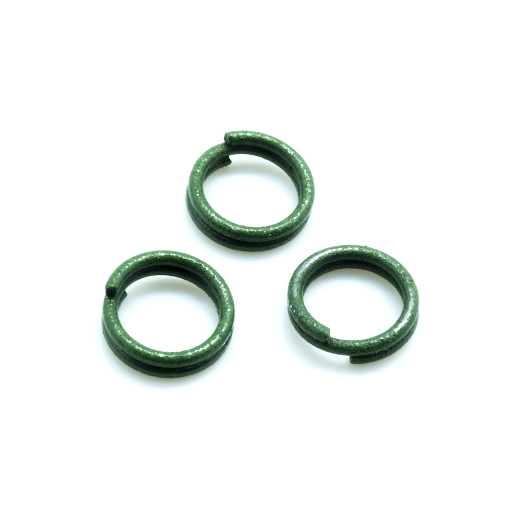 Split Ring - Coloured - 6mm - 10pc