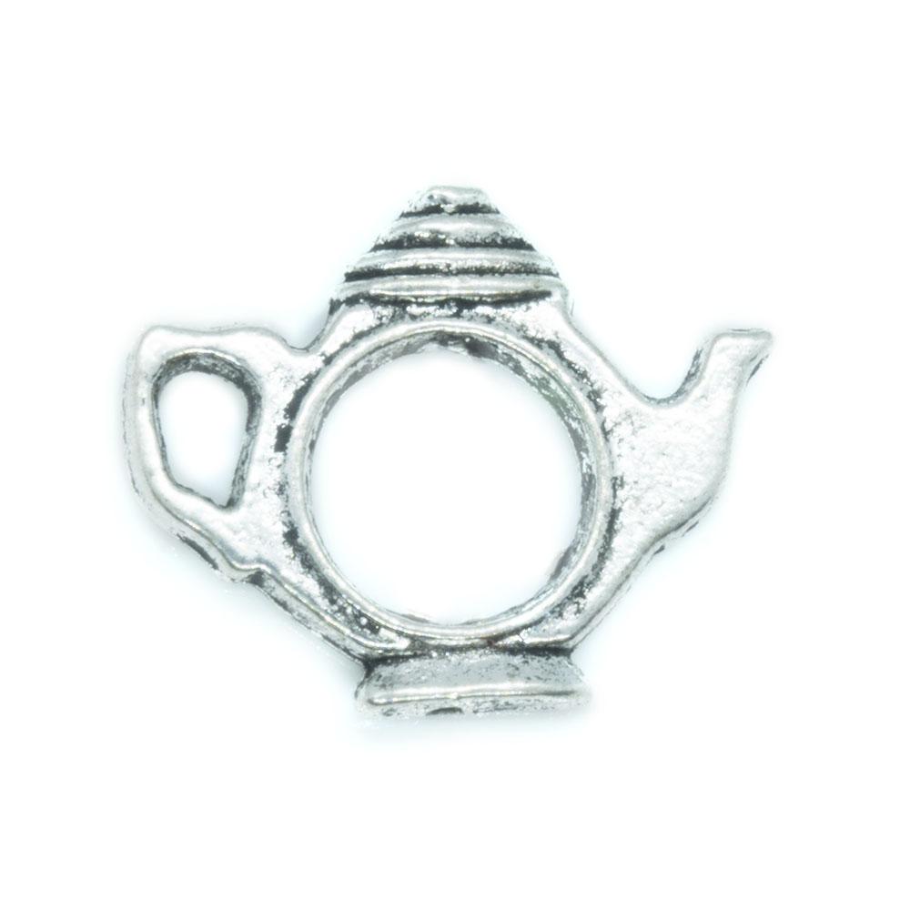 Teapot Bead Frame 22mm x 17mm
