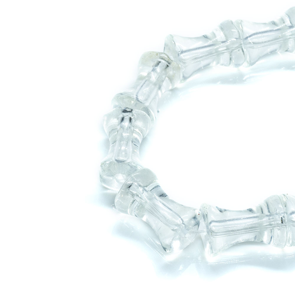 Glass Beads Bone Strands