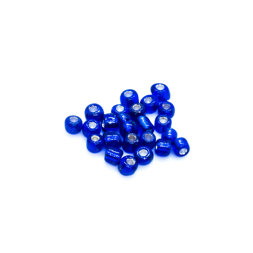 Size 11 Silver Lined Seed Beads - 6g