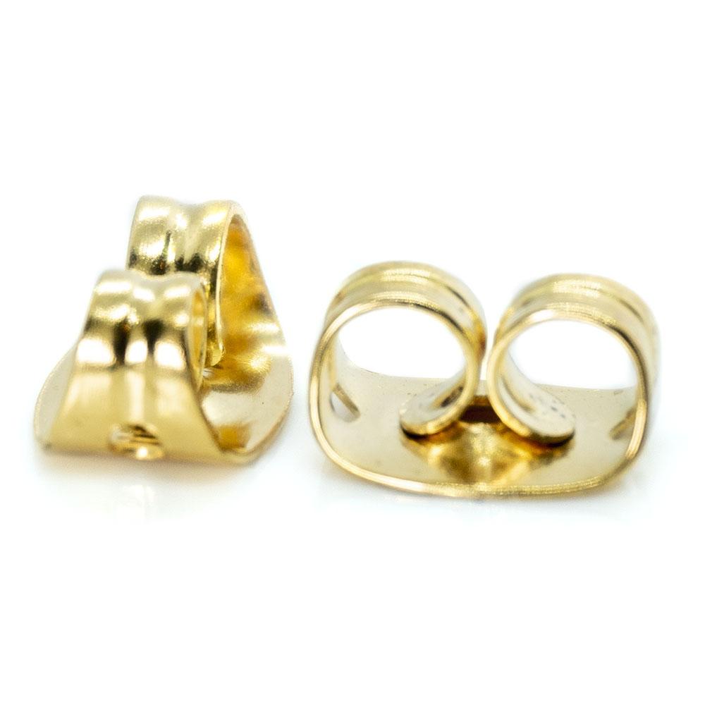 Ear Nuts Earring Backs - 6x4.5x3.5mm - 1pr