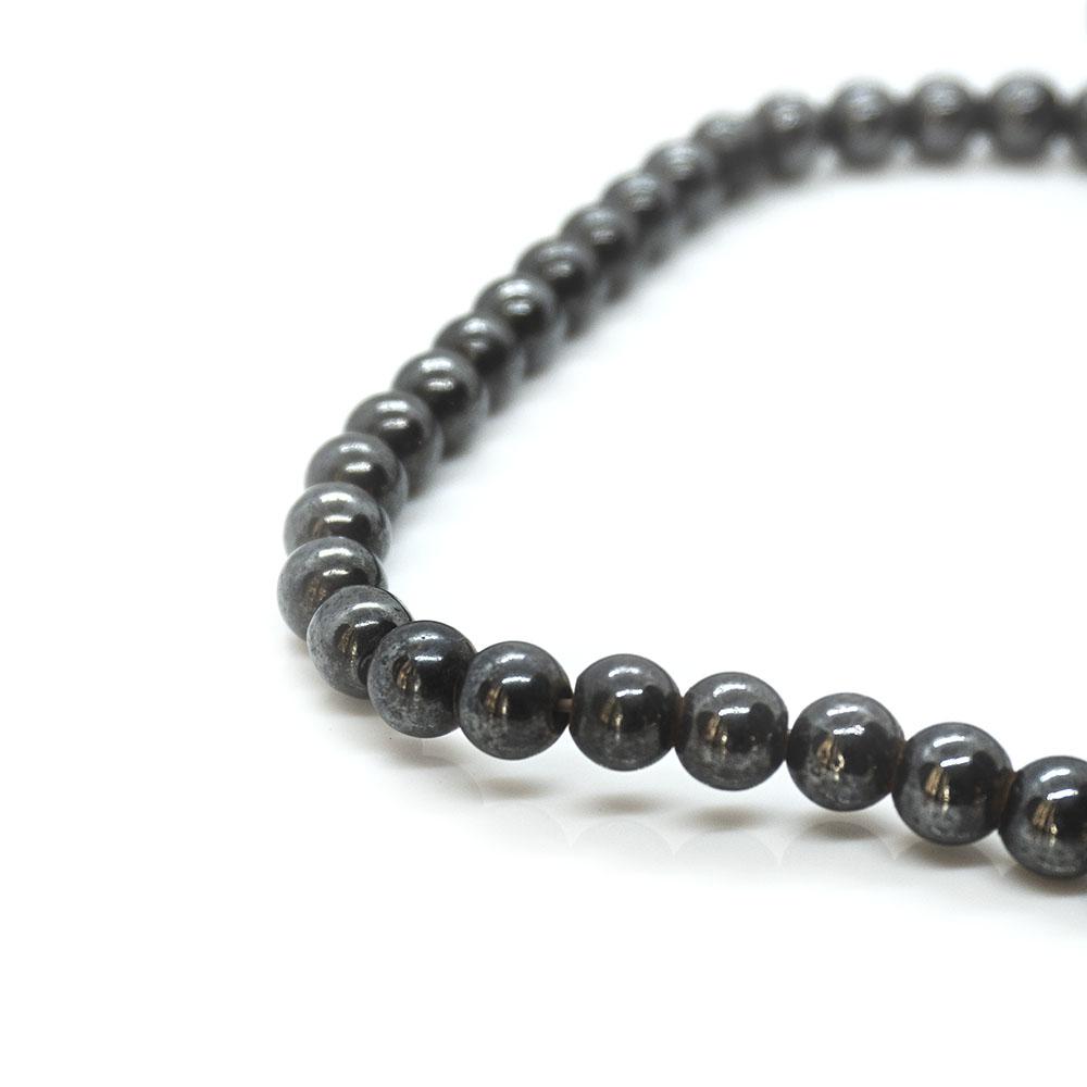 Magnetic Hematite Round Beads - 6mm - 44cm strand