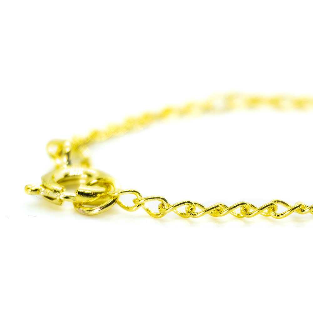 Chain Necklace - 2mm - 46cm length