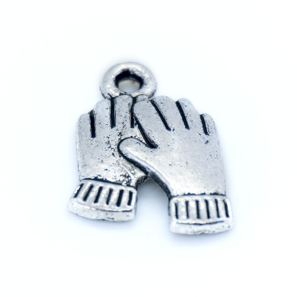 Helping Hands Charm - 19x13mm - 1pc