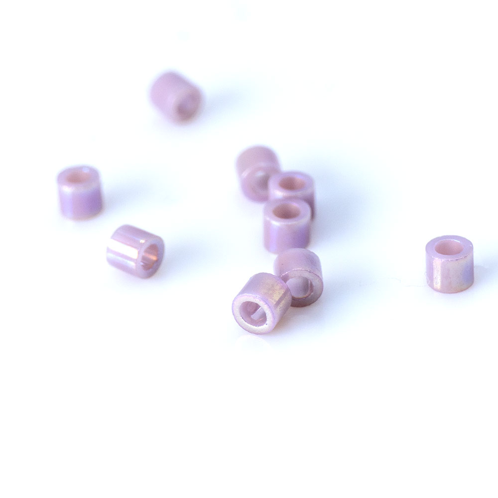 Miyuki Delica 15/0 Seed Bead - Silver Lined - 5gms