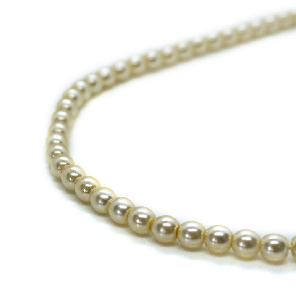 Glass Pearl Round - 5mm - 48cm strand
