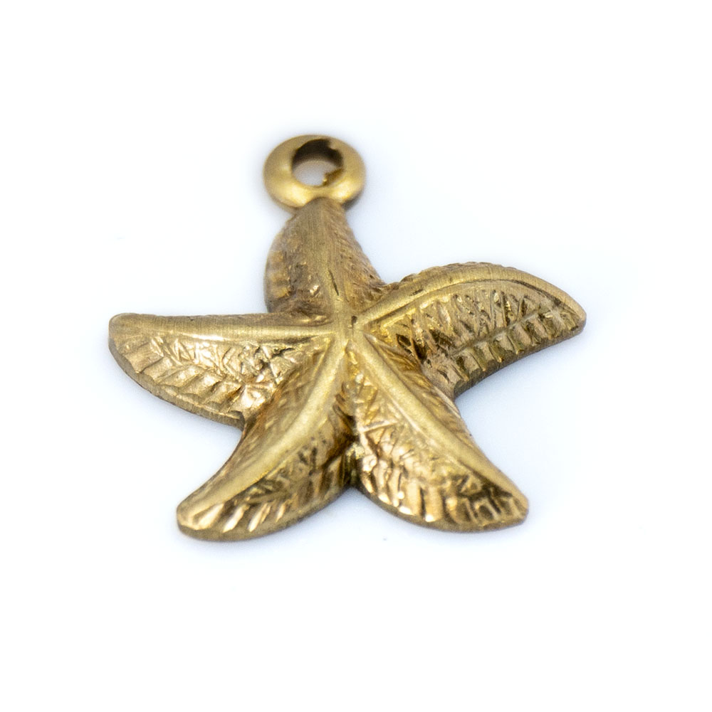 Starfish Charm - 13x11mm