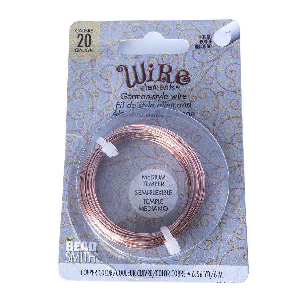 Beadsmith German Style Wire - 20 Gauge - 6m