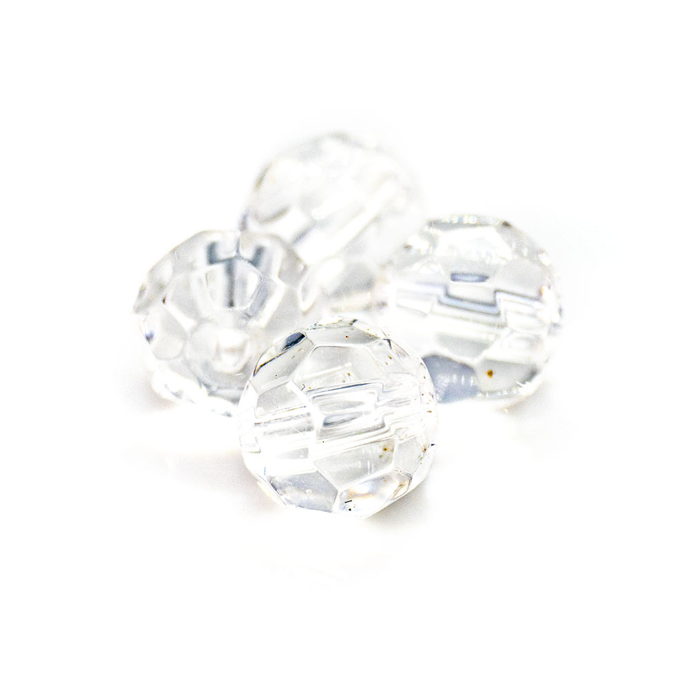Chinese Crystal Faceted Glass Beads - 8mm - 5pc