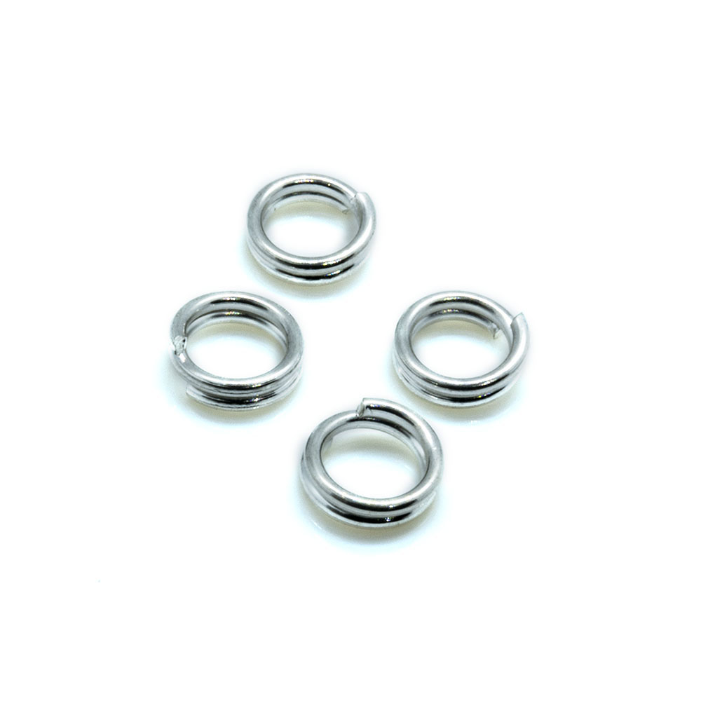 Split Ring - 6mm - 20pc