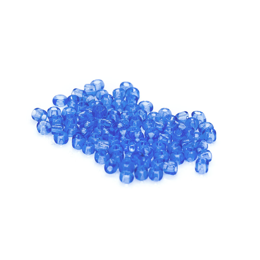 Size 11/0 Transparent Seed Beads - 6g