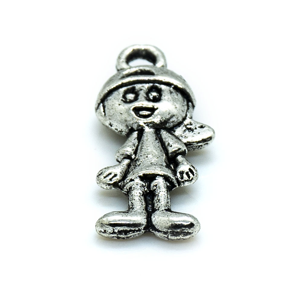 Girl Charm - 19x10mm - 1pc