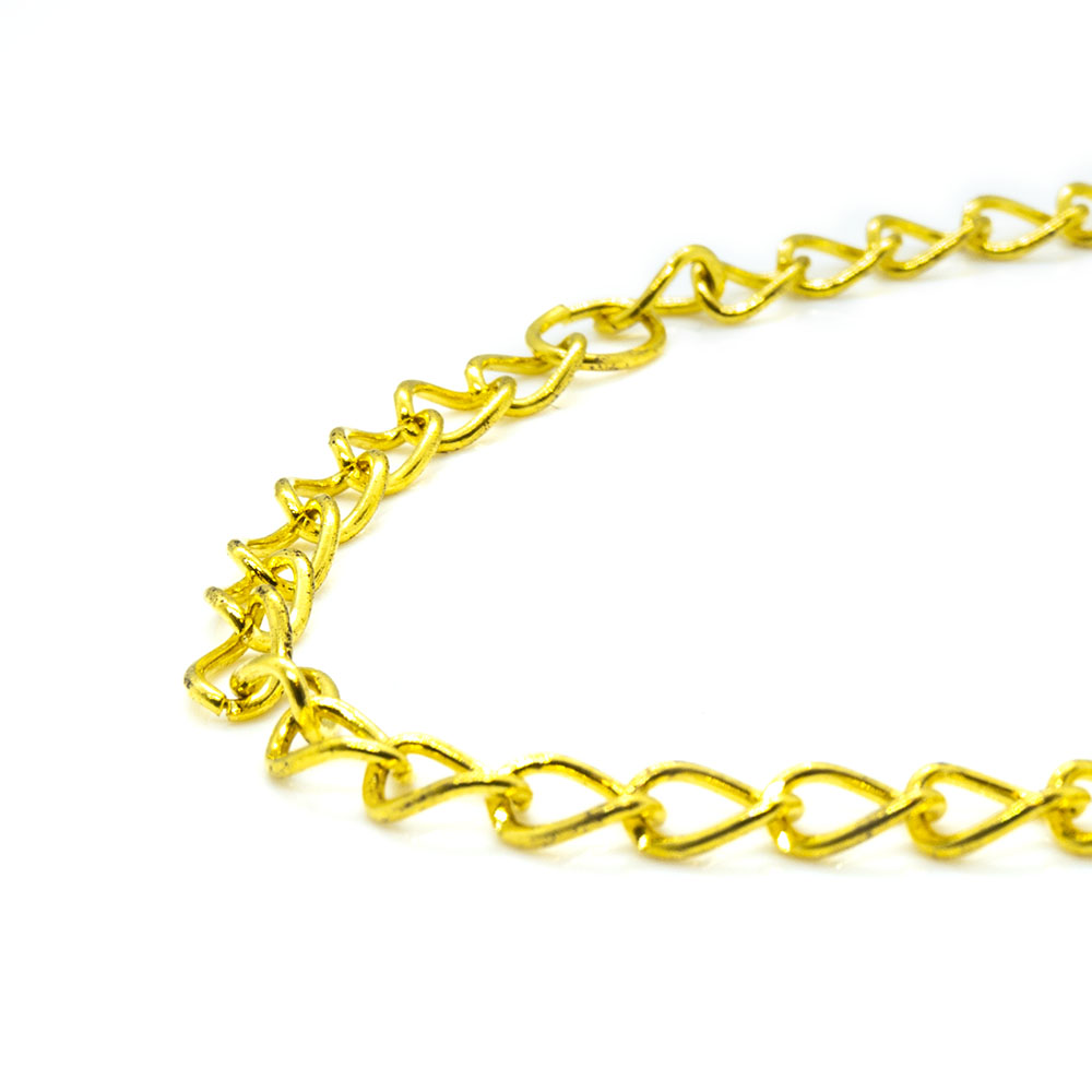Twist Cable Chain 4.5mm x 3mm x 46cm length
