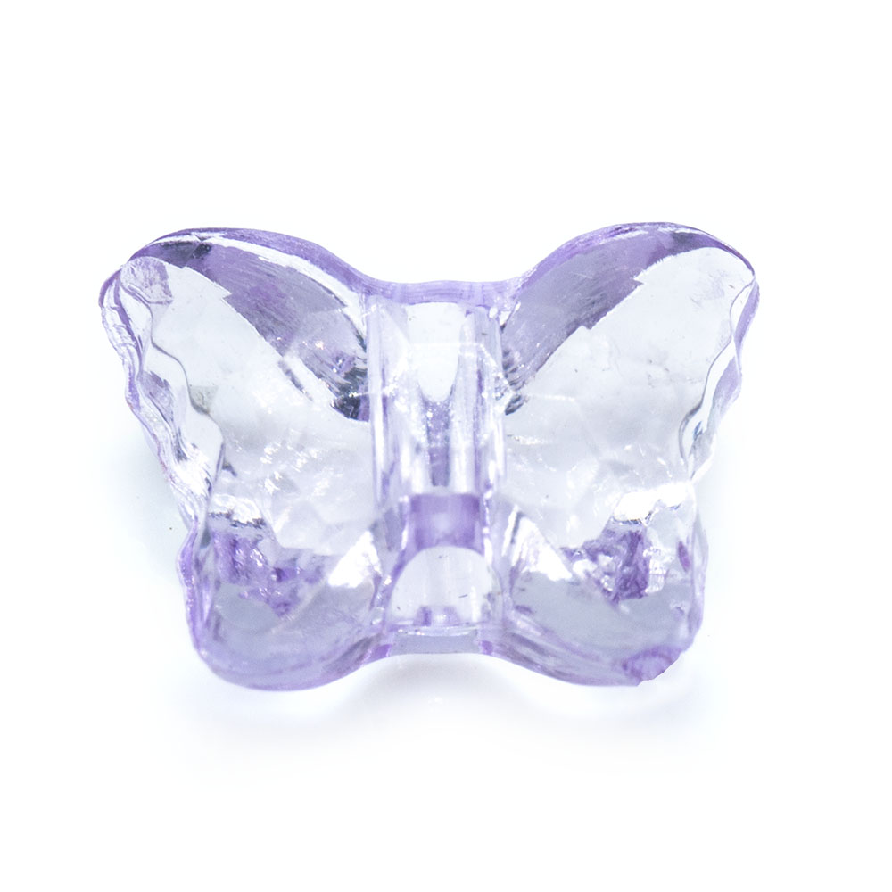 Acrylic Butterfly Bead - 13x11mm - 5pc