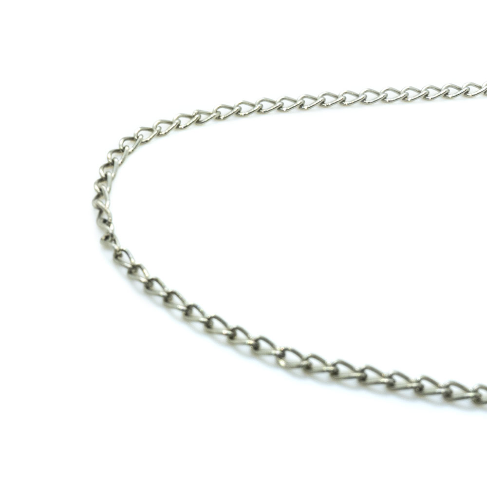 Twist Cable Chain 3mm x 2mm x 48cm length