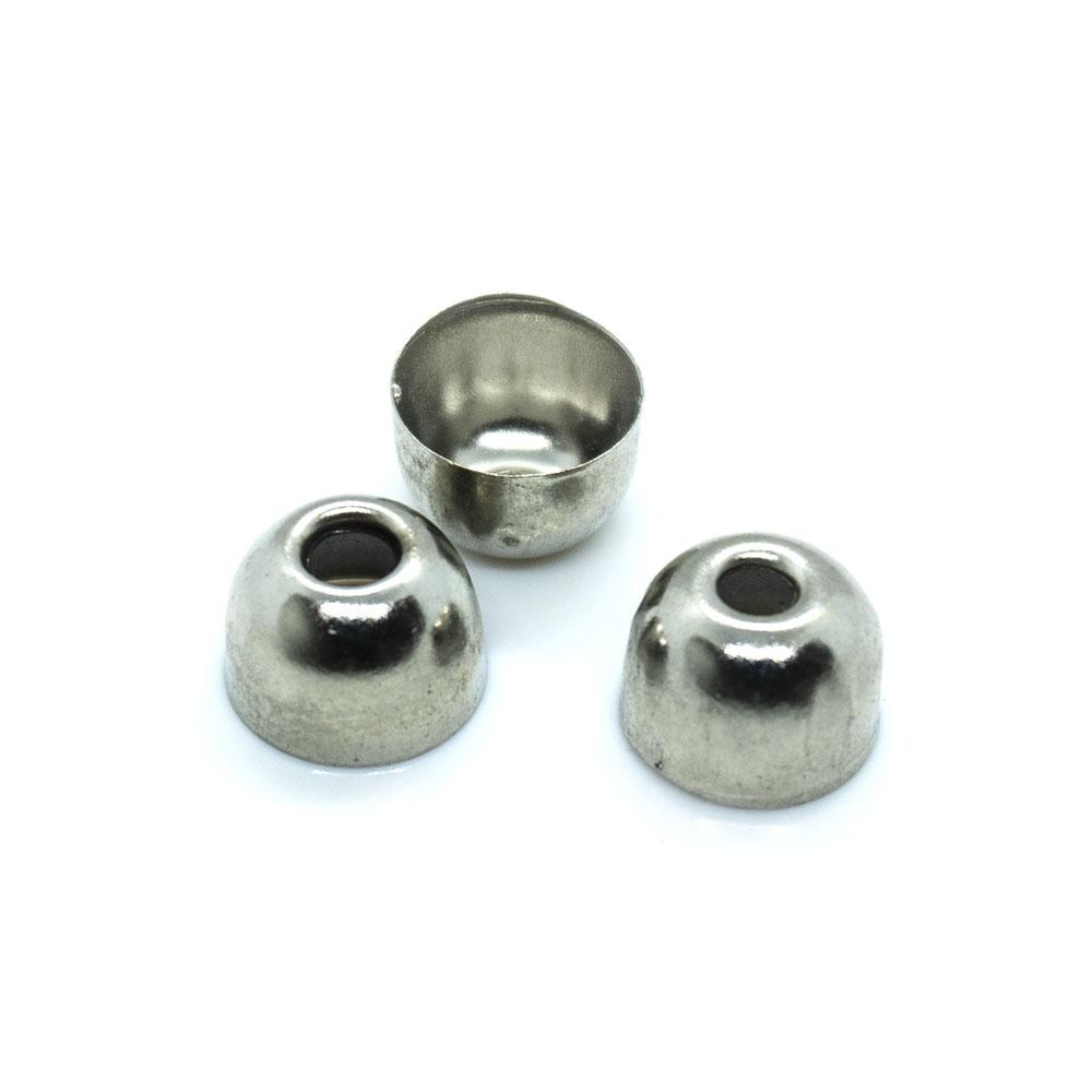 Bead Caps - Dome - 8mm - 10pc