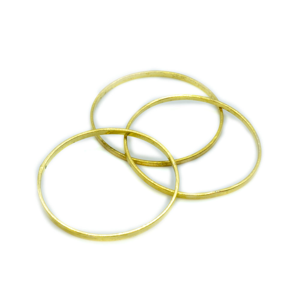 Jump Rings Round - 20mm - 10pc