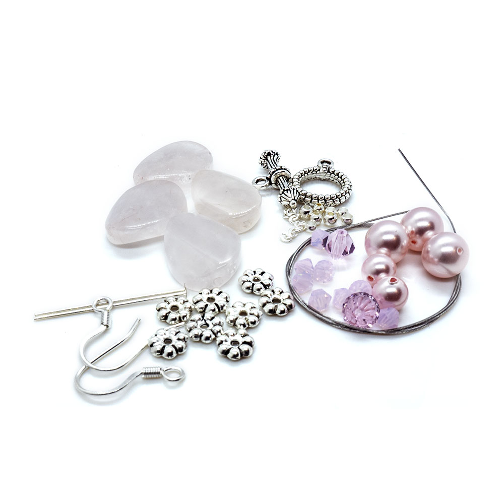 Crystal Innovations - Semi-Precious Stone and Crystal Bracelet and Earring Kit