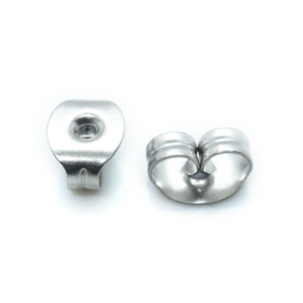 Earring Back Butterfly - 6.5x4.5x3.2mm - 10pr
