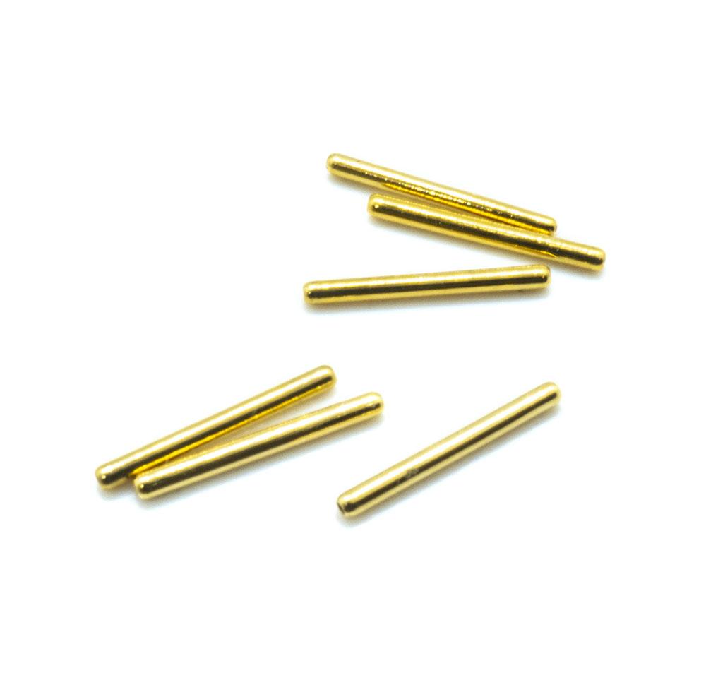 Straight Metal Tube - 15x1.5mm - 10pc
