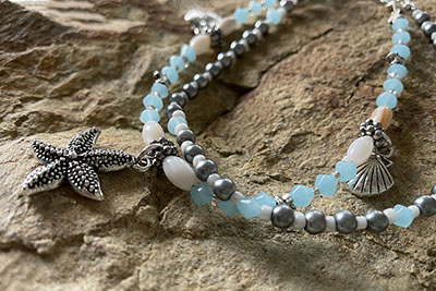 How to Make a Beach Anklet