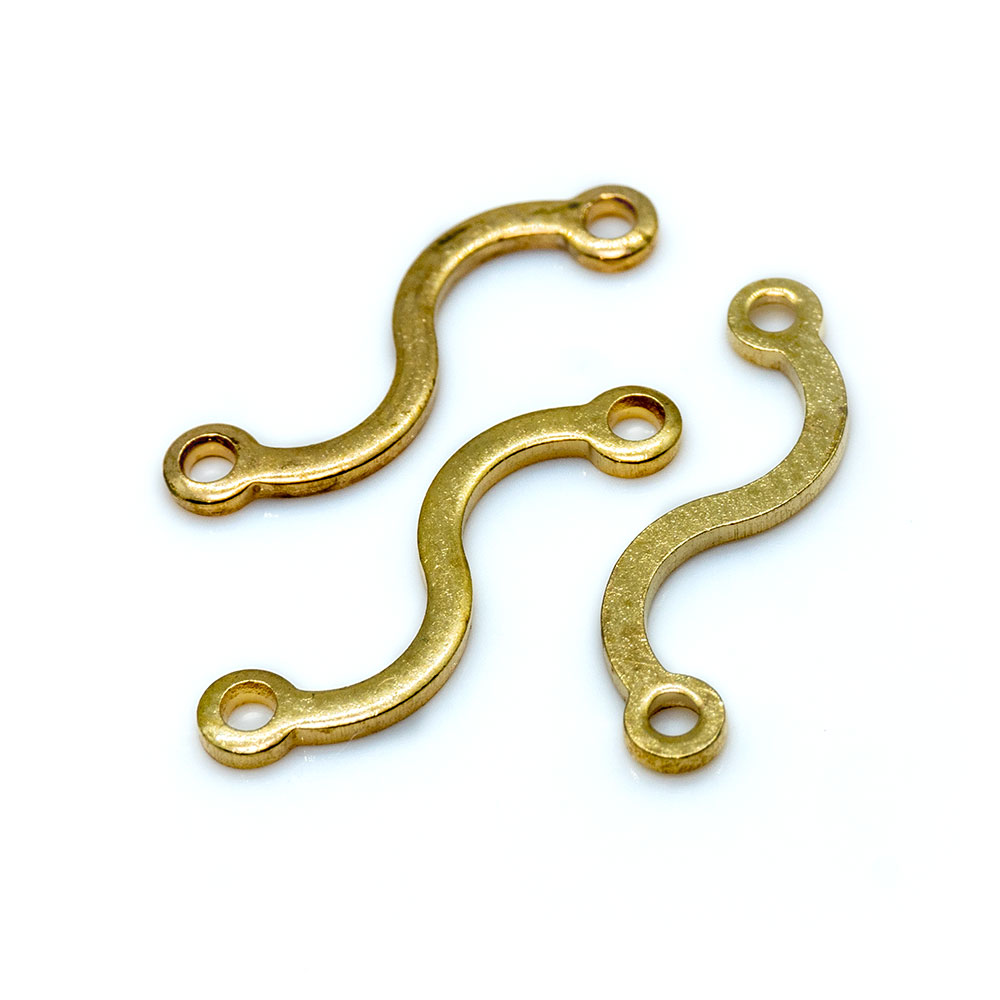 Link Connector Flat Wave 15mm x 4mm