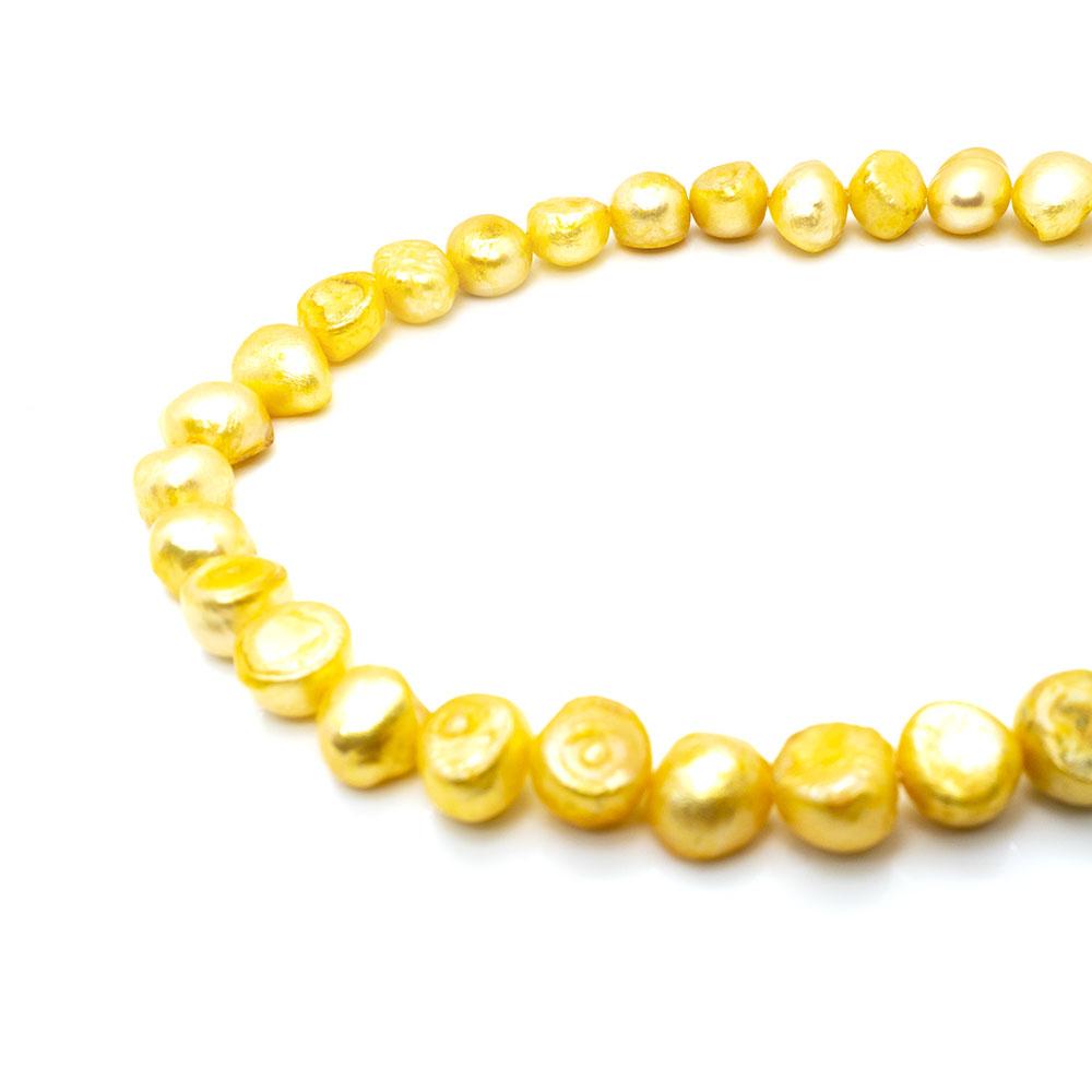 Freshwater Pearls C Grade - 6-7mm - 35cm strand