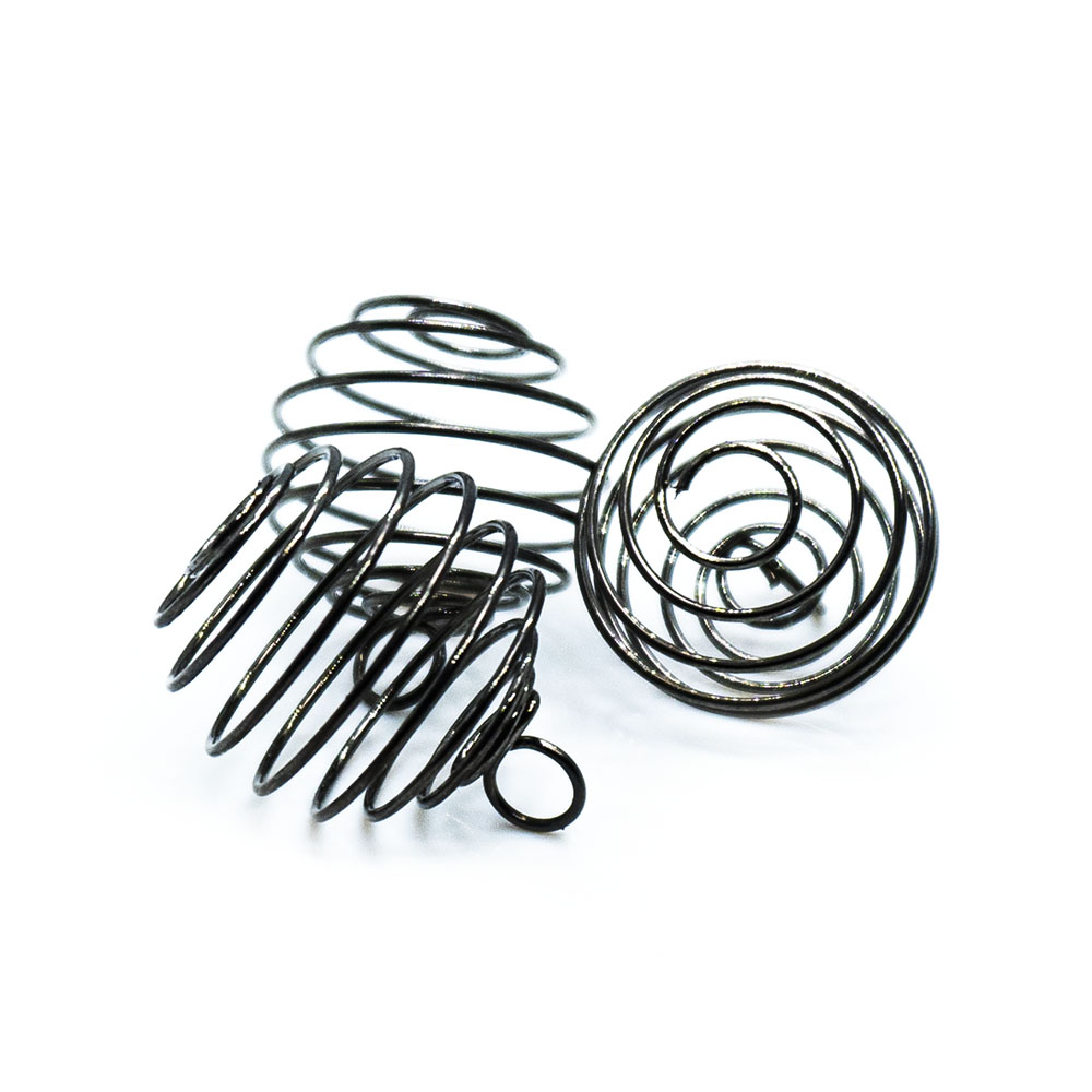 Spring Cage Bead - 28x19mm