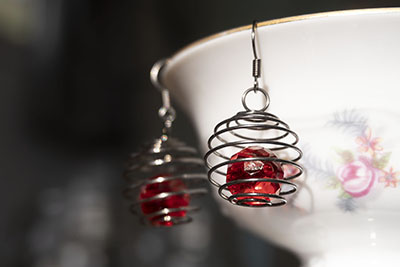 Spring Cage Earrings in Less Than 5 Minutes