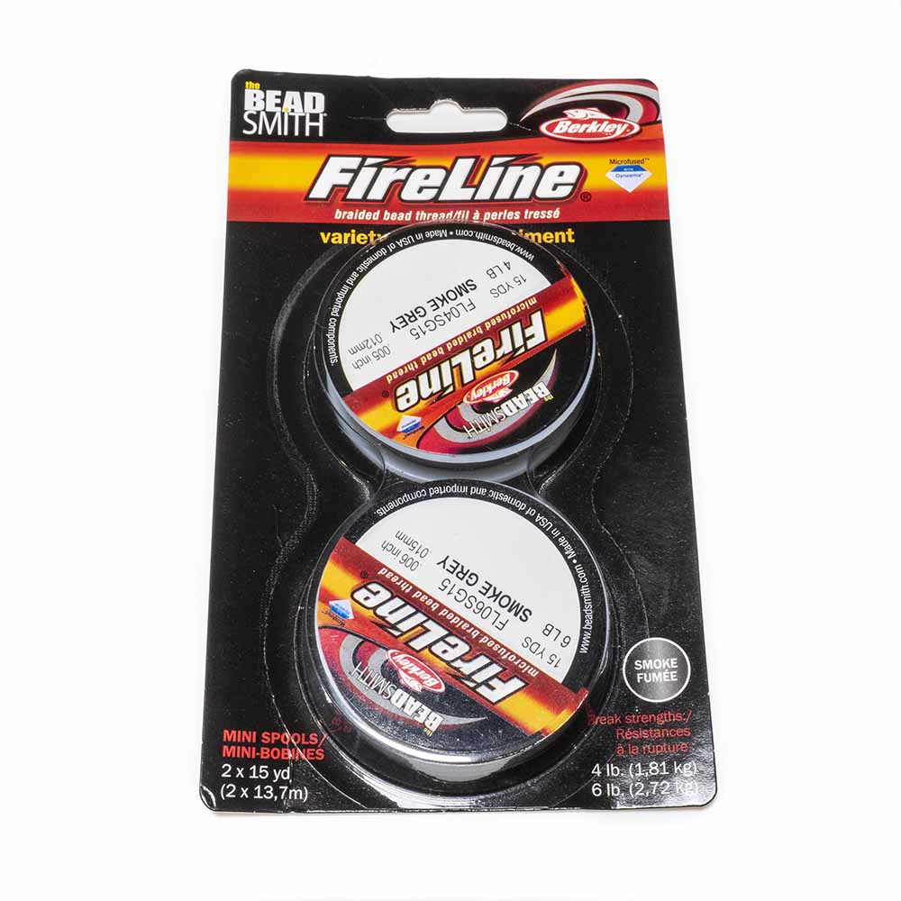 Fireline 4 & 6lb - 15 yards each