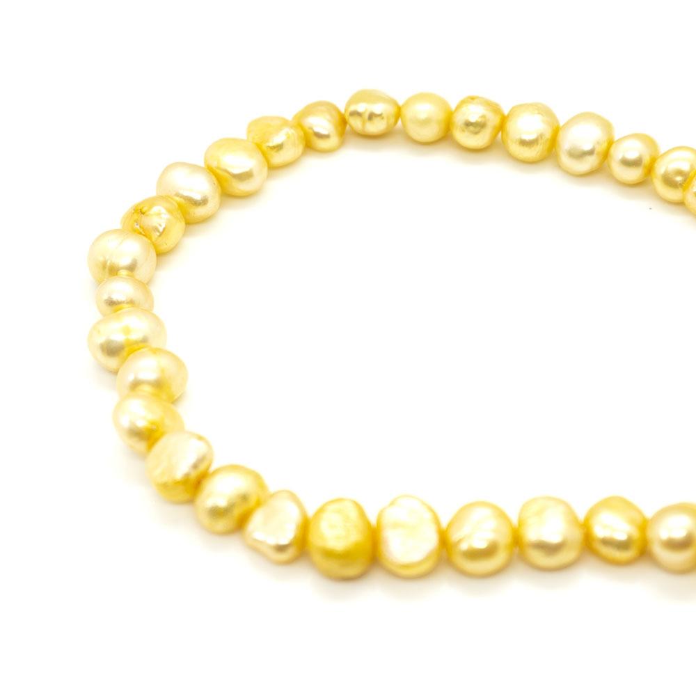 Freshwater Pearls B Grade 5-6mm x 35cm length