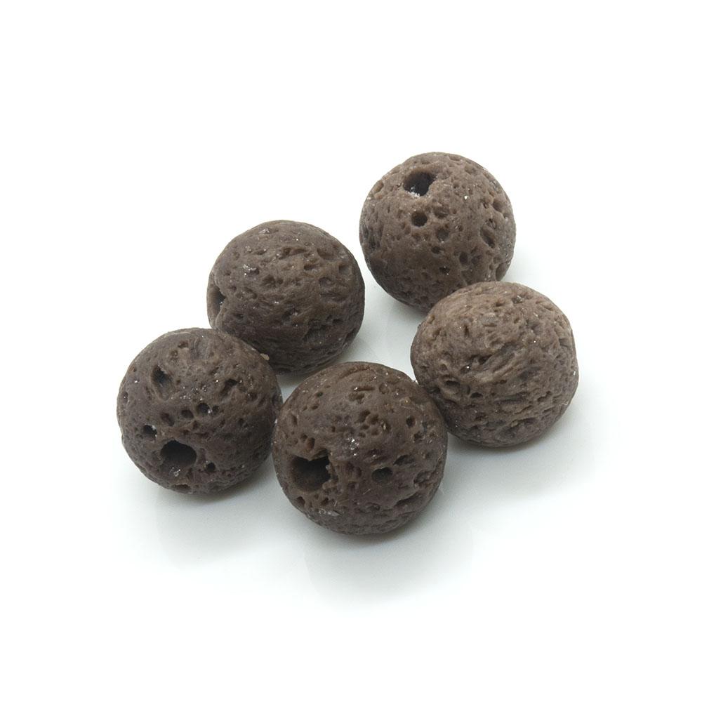 Lava Rock Beads 8mm