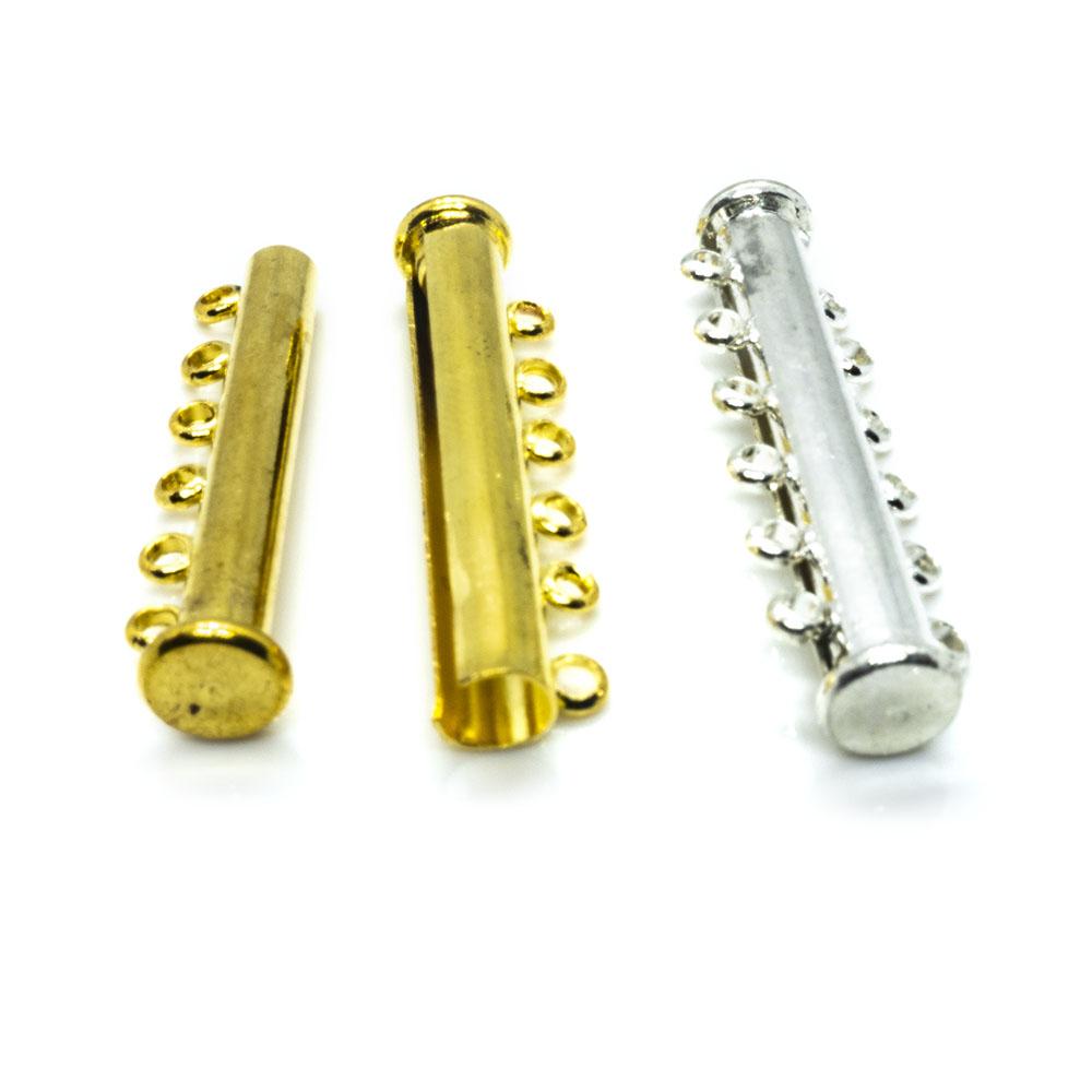 Magnetic Slide Lock Tube Clasp 36mm x 10mm