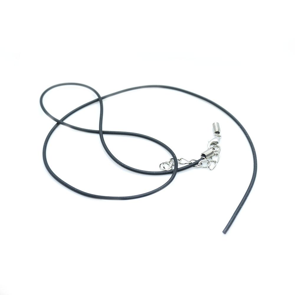 Rubber Necklace Cord 45cm