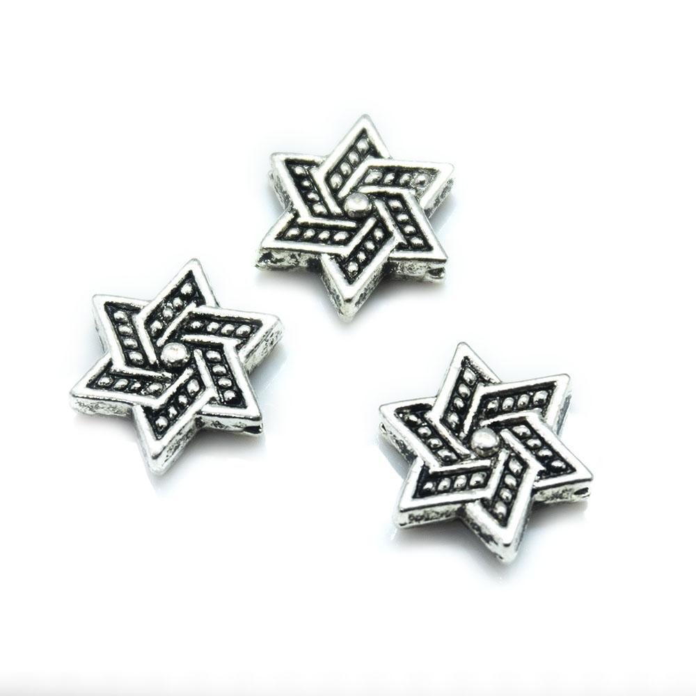 Tibetan Star 12mm x 5mm