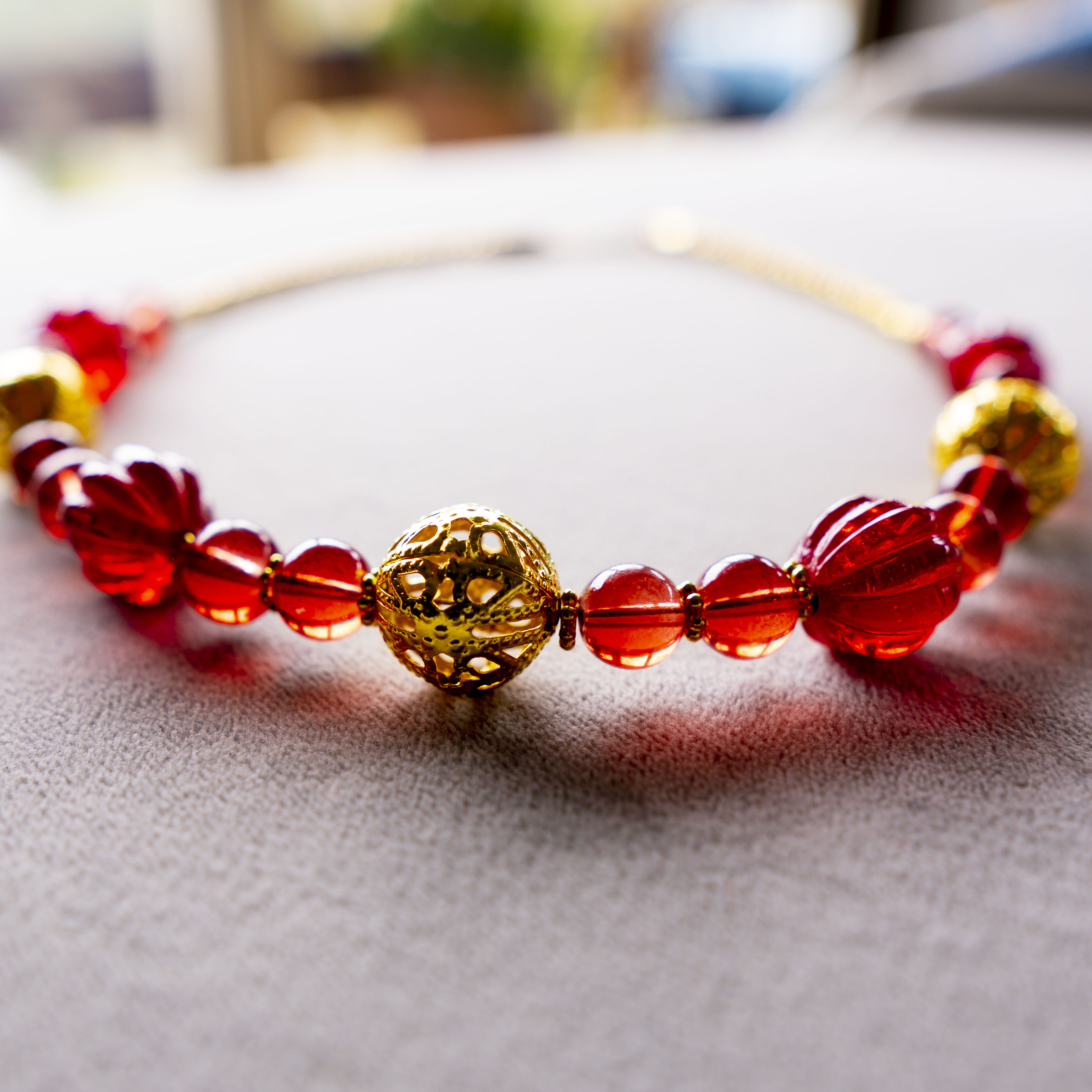 Red Necklace Kit