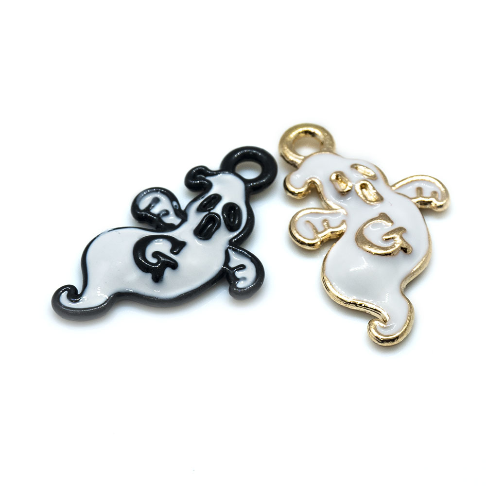 Ghost Charm 21mm x 8mm