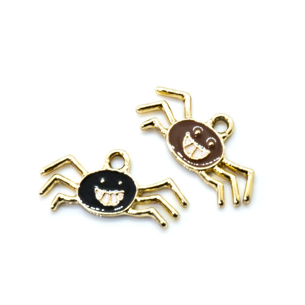 Spider Charm 22mm x 10mm