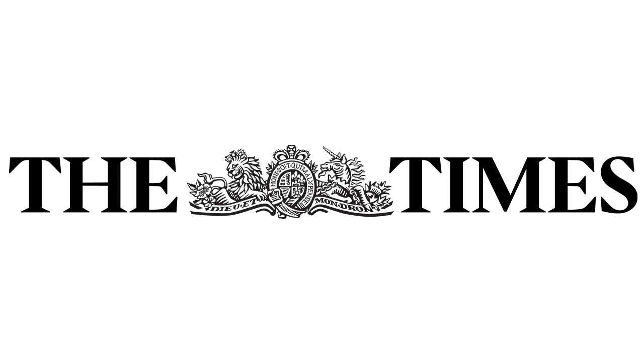 The Times newspaper logo.