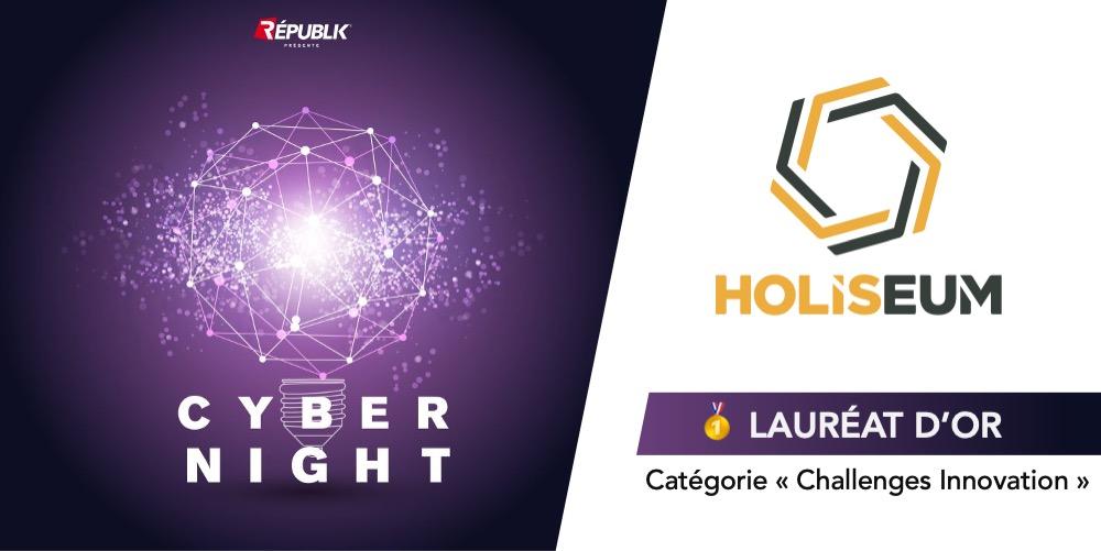 """Holiseum remporte le 1er prix des Trophées Cybernight 2021 avec le """"Tir à Blanc de Ransomware"""" !"""