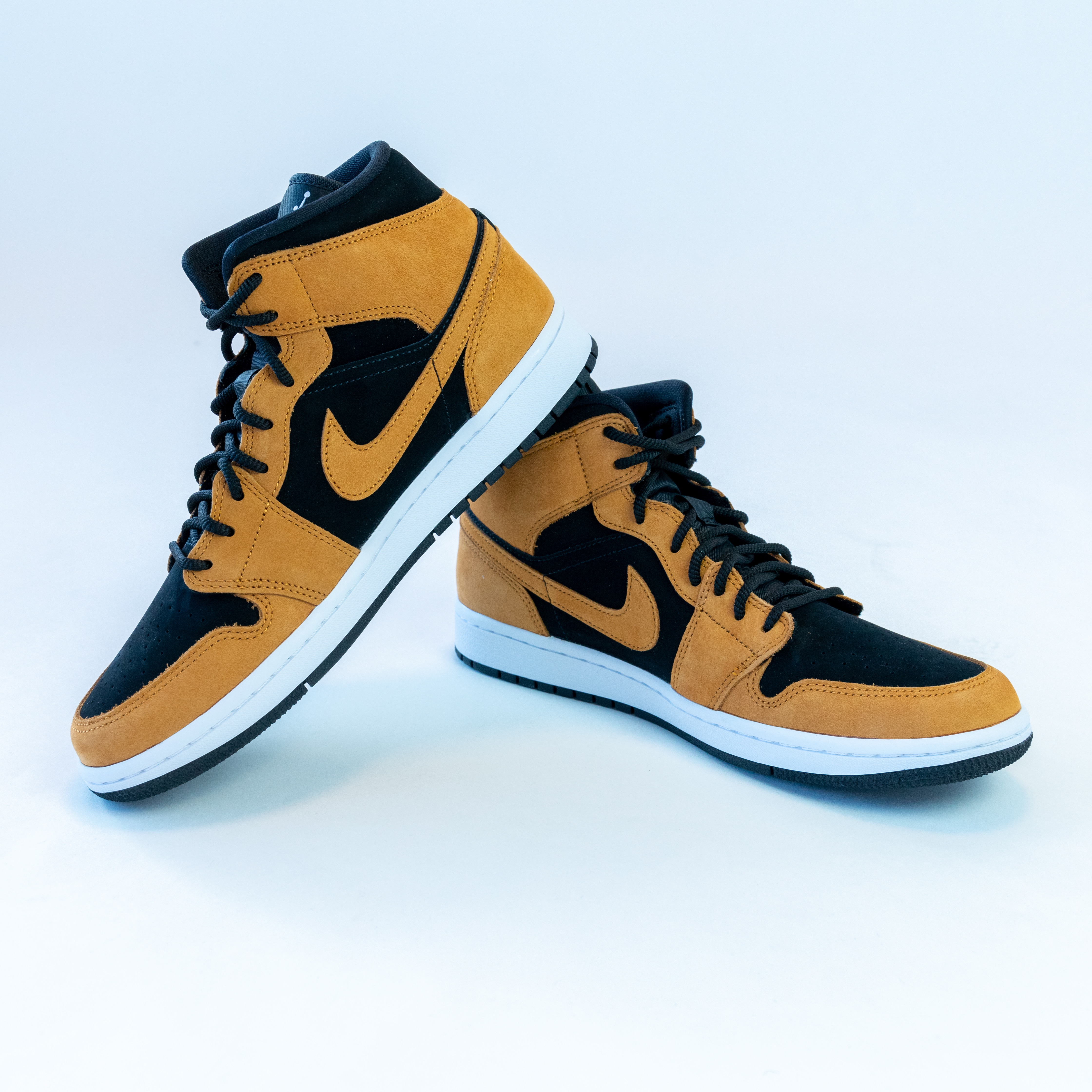 Product picture for Decked Out featuring a pair of brown Jordan shoes.