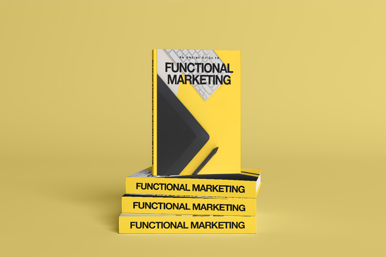 """A link to """"Functional Marketing"""" featuring the guide in book form."""