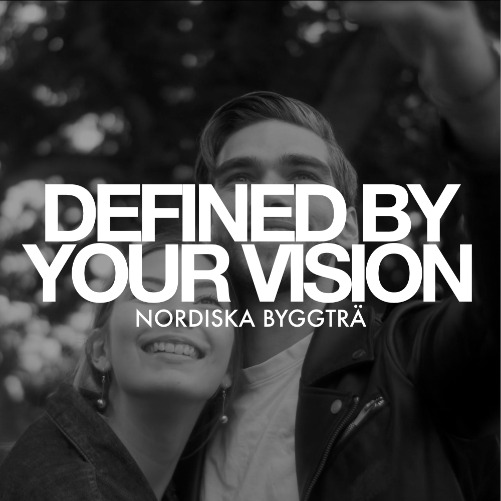 """Link to project """"Nordiska Byggtra - Defined By Your Vision"""""""