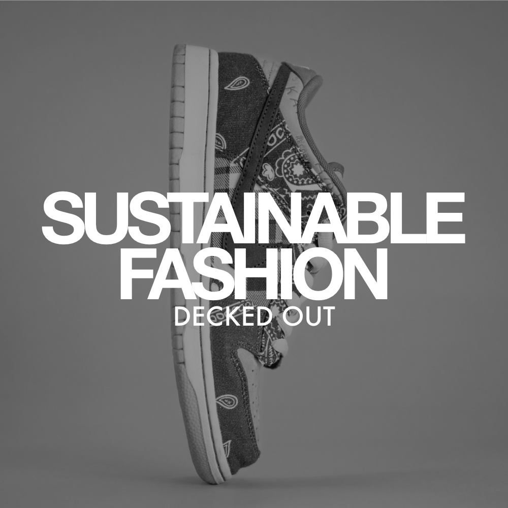 """Link to project """"Decked Out - Sustainable Fashion"""""""