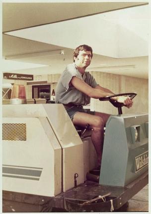 Lat Purser on a Machine