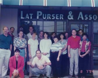Vintage Lat Purser Team Photo