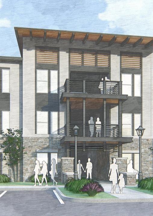 Apartment Development Sketch
